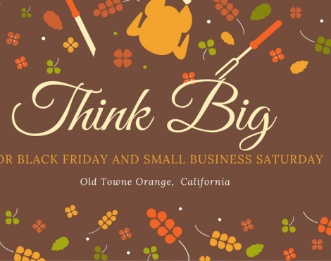 Think Big for Black Friday and Small Business Saturday