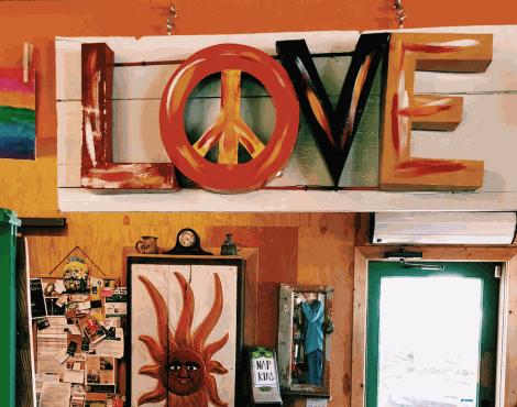 I Heart Mead's Green Door Cafe