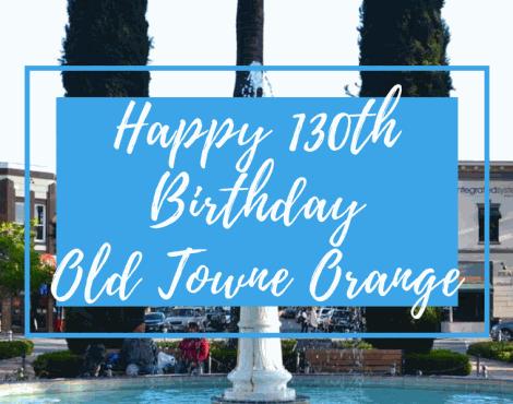 An Old Towne Orange Birthday Bash