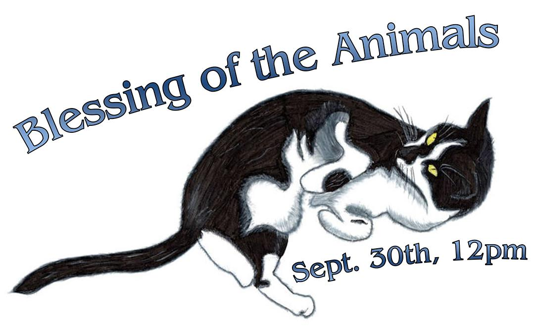 Blessing The Animals – I Heart Old Towne Orange