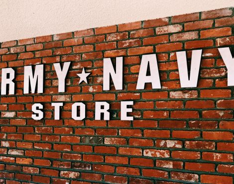 Army Navy Store in Old Towne Orange