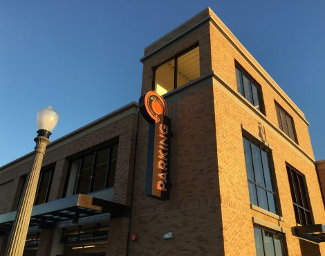 Our New Parking Structure is Open, Hip Hip Hooray!