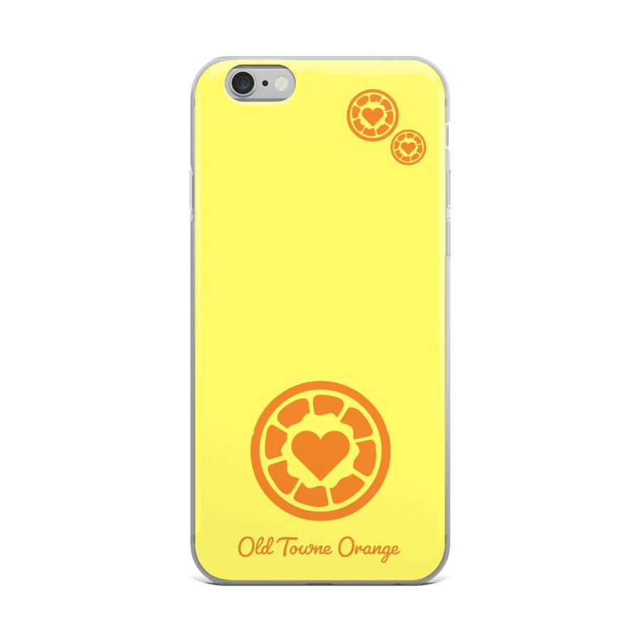 pretty nice c270a 36e36 Yellow Old Towne Orange iPhone Case