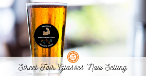 pint glasses for orange international street fair