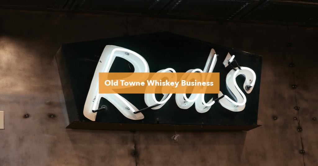 Rod's Liquor Sign, Bosscat Kitchen and Libations
