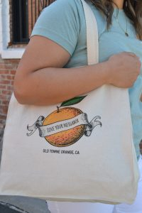 Love Your Neighbor Tote Bags from I Heart Old Towne Orange