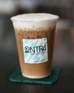Uh Huh Honey Latte from Contra Coffee and Tea