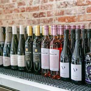 Image of wine and alcohol offerings at O Sea in Old Towne Orange