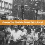 Italian Street at the Orange International Street Fair in 1981