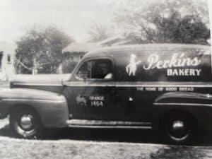 Perkins Bakery Van